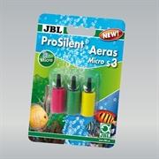 JBL ProSilent Aeras Micro S3 - Набор из трёх цветных распылителей для аквариумов