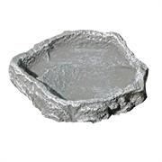 JBL ReptilBar GREY L - Кормушка, поилка и купалка для обитателей террариума, серая
