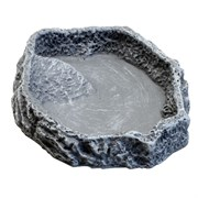 JBL ReptilBar GREY S - Кормушка, поилка и купалка для обитателей террариума, серая