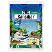 JBL Sansibar SNOW - Декоративный грунт д/пресн и морских аквариумов, белоснежный, 5 кг