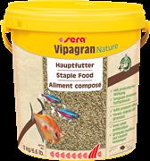 Корм для рыб основной в гранулах Sera VIPAGRAN 10 л. 3 кг. (ведро)