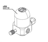 JBL ProFlora u004 - Сменный редуктор для CO2-системы u504