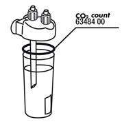 JBL Seal for CO2 Count - Уплотнительная прокладка для счетчика пузырьков