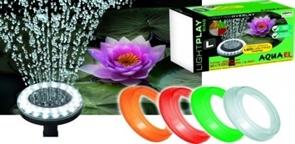 Светящиеся насадки 4 цвета Aquael LIGHTPLAY RING (L) на разбрызгиватель помпы PFN 7500, 10000