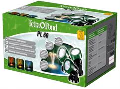 Подсветка для пруда TetraPond PL60 из трех светильников (Лампы-3х20 Вт, 3 светофильтры, трансформатор, кабель 7 м.)