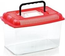 Переноска-отсадник пластиковая Imac ARIEL MEDIUM, 28х17,5х17,5 см, 4 л.