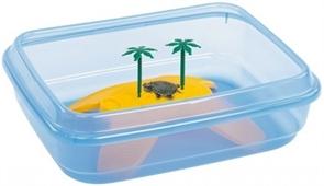 Террариум для черепах Imac NINJIA /открытый/ 50х40х14,5 см.