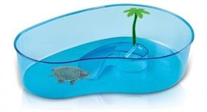 Террариум для черепах Imac фигурный VIRGOLA 40х27х9 см.