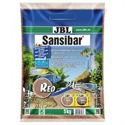 JBL Sansibar RED - Декоративный грунт для пресноводных и морских аквариумов, красный, 5 кг.