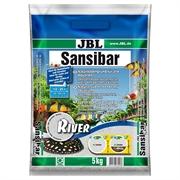 JBL Sansibar RIVER - Декоративный грунт для пресноводных и морских аквариумов, светлый, 5 кг.