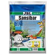 JBL Sansibar WHITE - Декоративный грунт для пресноводных и морских аквариумов, белый, 5 кг.
