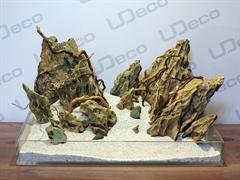 """UDeco Dragon Stone MIX SET 20 - Натуральный камень """"Дракон"""" для оформления аквариумов и террариумов, набор 20 кг."""