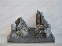 """UDeco Grey Mountain MIX SET 15 - Натуральный камень """"Серая гора"""" для оформления аквариумов и террариумов, набор 15 кг."""