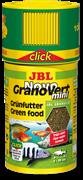 JBL NovoGranoVert mini CLICK - Основной корм для растительноядных аквариумных рыб и креветок, 100 мл (40 г)