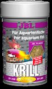 JBL Krill - Корм премиум с крилем для пресноводных и морских аквавриумных рыб, хлопья, 250 мл (40 г)