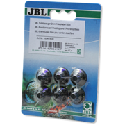 JBL slit suction cup - Присоска для крепления термокабеля диаметром 2-4 мм в аквариуме и террариуме, 6 шт