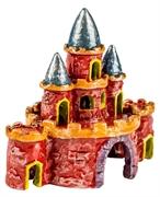 Декорация флуоресцирующая GloFish Замок малый 8,5х5х8 см.