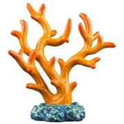 Декорация флуоресцирующая GloFish Коралл оранжевый 5х4,5х11 см.