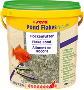 Корм для прудовых рыб Sera POND FLAKES 10 л (1,6 кг) ведро