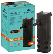 Фильтр Homefish  600 внутренний для аквариума до 60л, 300л/ч 4,0 Вт.