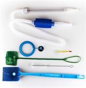Набор аксессуаров Barbus SET 004 для ухода за аквариумом до 40 л: 6 предметов.
