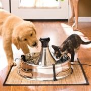 Автоматическая поилка для кошек и собак Petsafe Drinkwell 360 из нержавеющей стали
