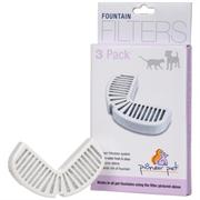 Сменные фильтры для автоматических поилок Pioneer Pet Rain Drop 3 шт. /уголь/