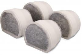 Сменные фильтры для автопоилок Petsafe Drinkwell AVALON, PAGODA /уголь/ 4 шт.