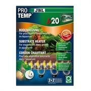 JBL ProTemp b20 - Грунтовый термокабель д/пресн аквариумов 100-250 л (80-100 см), 20 Вт