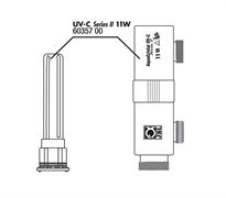 JBL AC Casing+mount+glass - Корпус, крепление и колба для УФ-стерилизатора AC 11 Вт