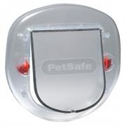 Дверь для крупных кошек и мелких пород собак PetSafe Staywell. Размер шторки 20х18 мм.