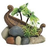 "ArtUniq Ancient Boat On The Shore - Декоративная композиция ""Ладья на берегу"", 11x9,5x9,5 см"