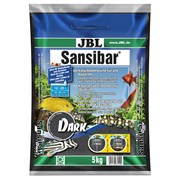 JBL Sansibar DARK - Декоративный грунт д/пресн и морских аквариумов, тёмный, 5 кг