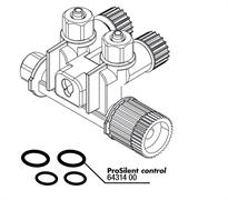 JBL PS Control O-Ring Set - Комплект упл прокладок для запорного воздушного клапана