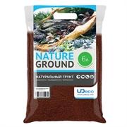 """UDeco Premium Lava Sand - Натуральный грунт для оформления аквариумов и террариумов """"Лавовый песок"""", 0,1-0,5 мм, 6 л"""