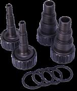 JBL PC UV-C hose connect kit+gasket - Хвостовики с упл прокл д/подкл шлангов PC 5-36 Вт