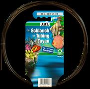 Воздушный шланг для компрессора JBL Aquarium tubing GREY air 4/6 прозрачный серый, 2,5 м.