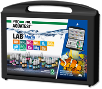 JBL ProAquaTest Lab - Комплект тестов для определения параметров воды: KH,NH4,NO2,NO3,O2,SiO2,pH,PO4,Ca,Mg,Cu (для морских аквариумов)