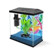 Аквариум Aquael LEDDY MINI 30 черный 12,6 л., 30х15х28 см.