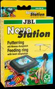 Кормушка для рыб JBL NovoStation, подстраивающаяся под уровень воды в аквариуме.