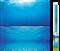 Фон пленка-постер Juwel /голубая вода/ 100х50 см. - фото 19706